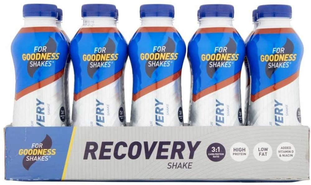 SALE CASE PRICE  For Goodness Shakes Recovery Chocolate Shake 10 x 475ml