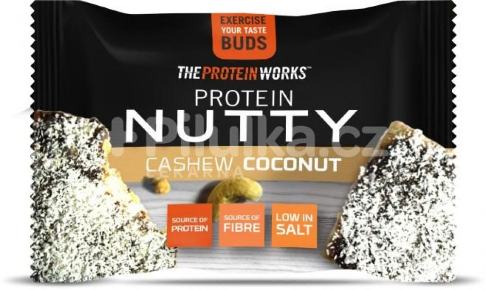 The Protein Works High Protein Nut Snack Cashew Coconut 40 g