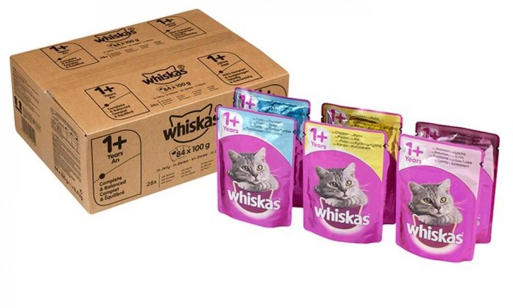 Whiskas Complete Wet Cat Food Lucky Dip 100g