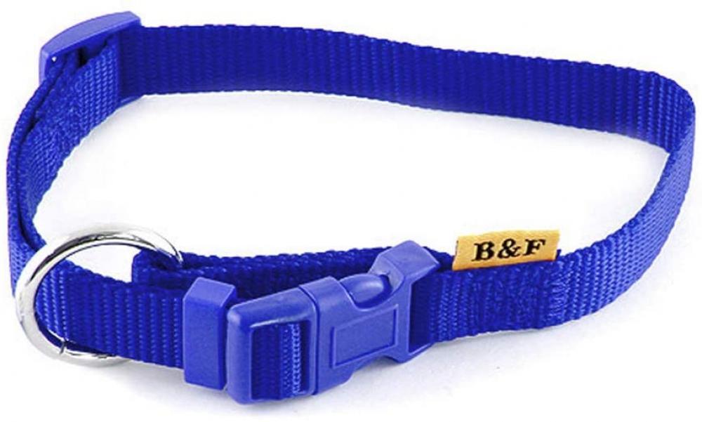 B And F Unicolour Collar Blue 2.5x40x66 cm