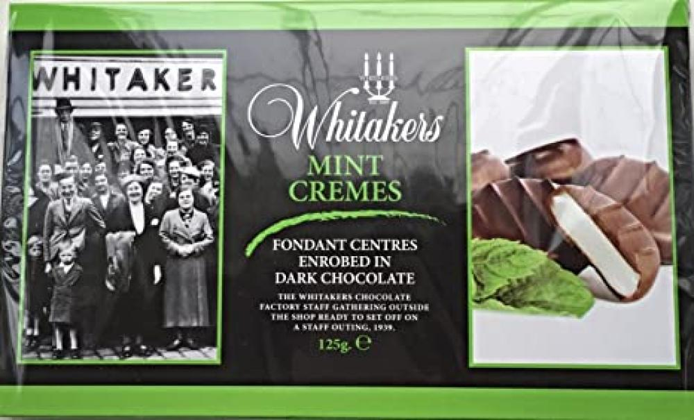 Whitakers Mint Cremes 125g