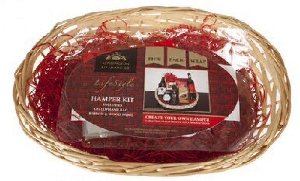 Kensington Create Your Own Christmas Oval Hamper