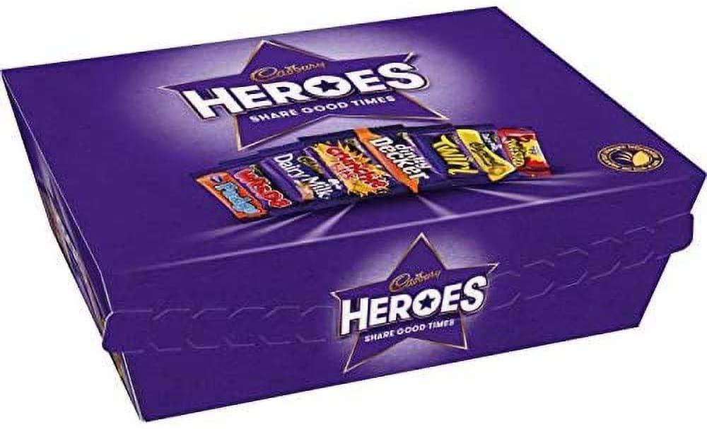 WEEKLY DEAL  Cadbury Heroes Chocolate Box 78 g