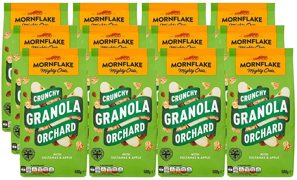Mornflake Mighty Oats Orchard Granola 500g