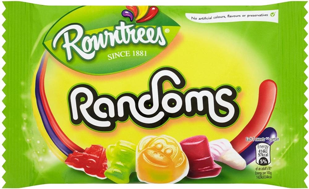 Rowntrees Randoms 50g