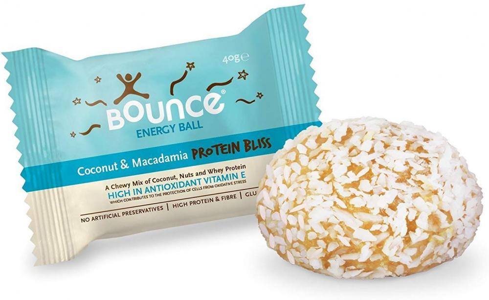 Bounce Coconut Macadamia Protein Energy Ball 40g