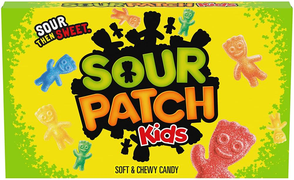 Sour Patch Kids Soft and Chewy Candy 99g