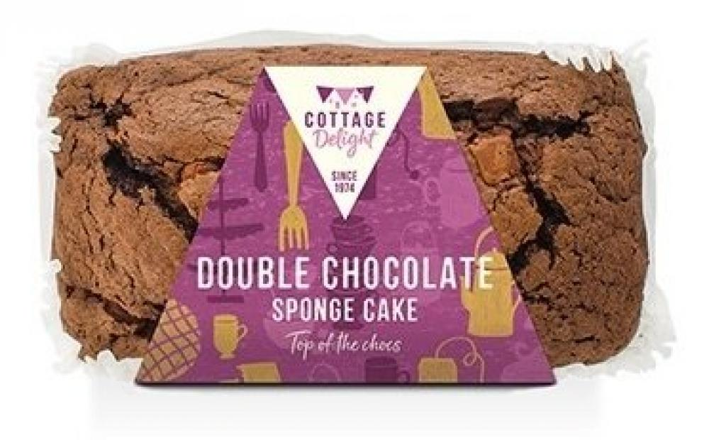 Cottage Delight Double Chocolate Sponge Cake 350g