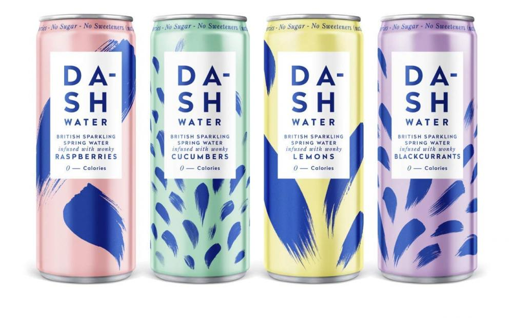 Dash Water Infused Sparkling Water LUCKY DIP 330ml