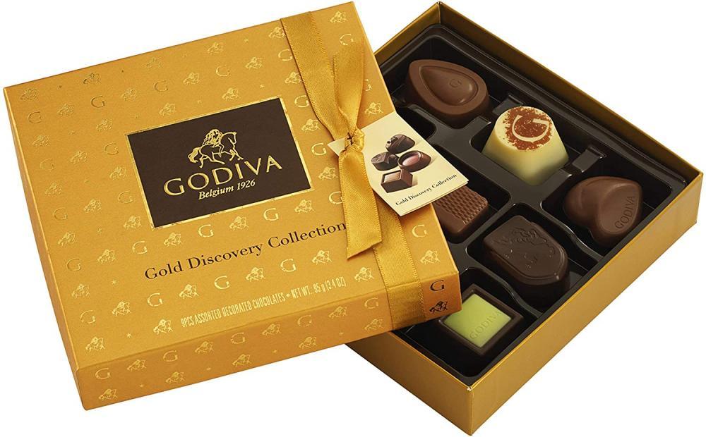 Godiva Gold Discovery Gift Box 95g