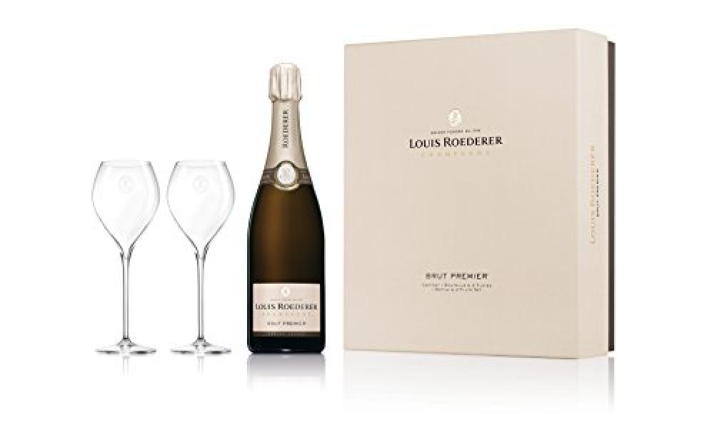 Louis Roederer Brut Premier Champagne Gift Box 750ml Damaged Box