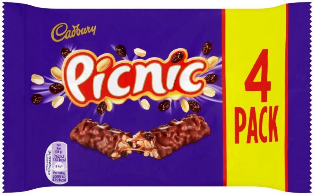 Cadbury Picnic 32g x 4