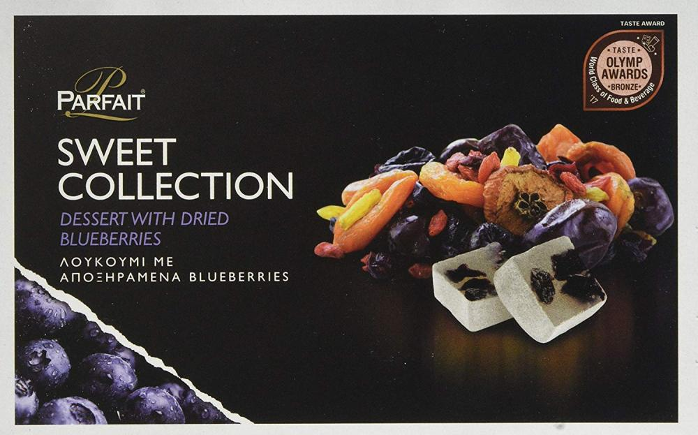 Parfait Sweet Collection Dessert with Dried Blueberries 200g