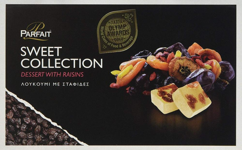 Parfait Sweet Collection Dessert with Raisins 200g