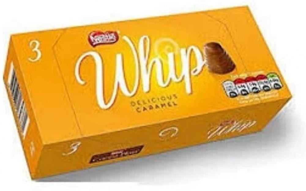 Nestle Whip Delicious Caramel 3 x 27.8g