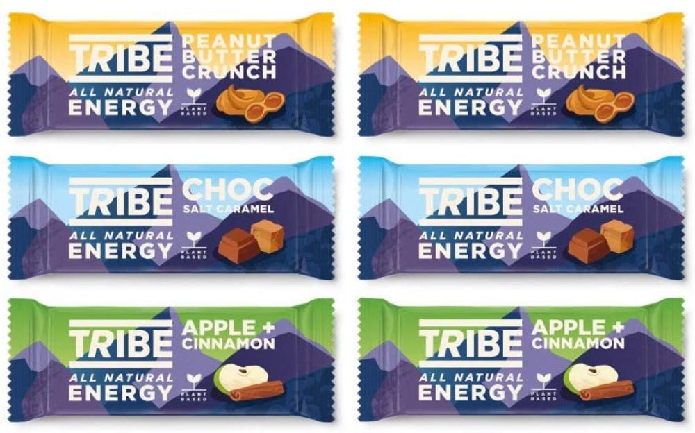 Tribe Natural Energy Bar Mixed Bundle 16 bars