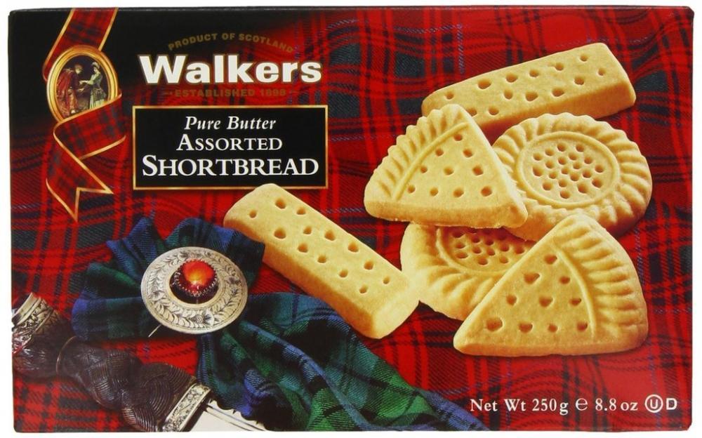 Walkers Shortbread Pure Butter Shortbread 250g