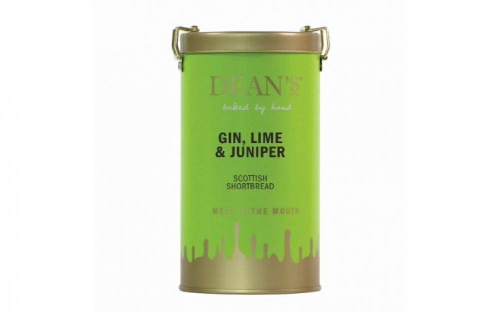 Deans Gin Lime and Juniper Scottish Shortbread 300g
