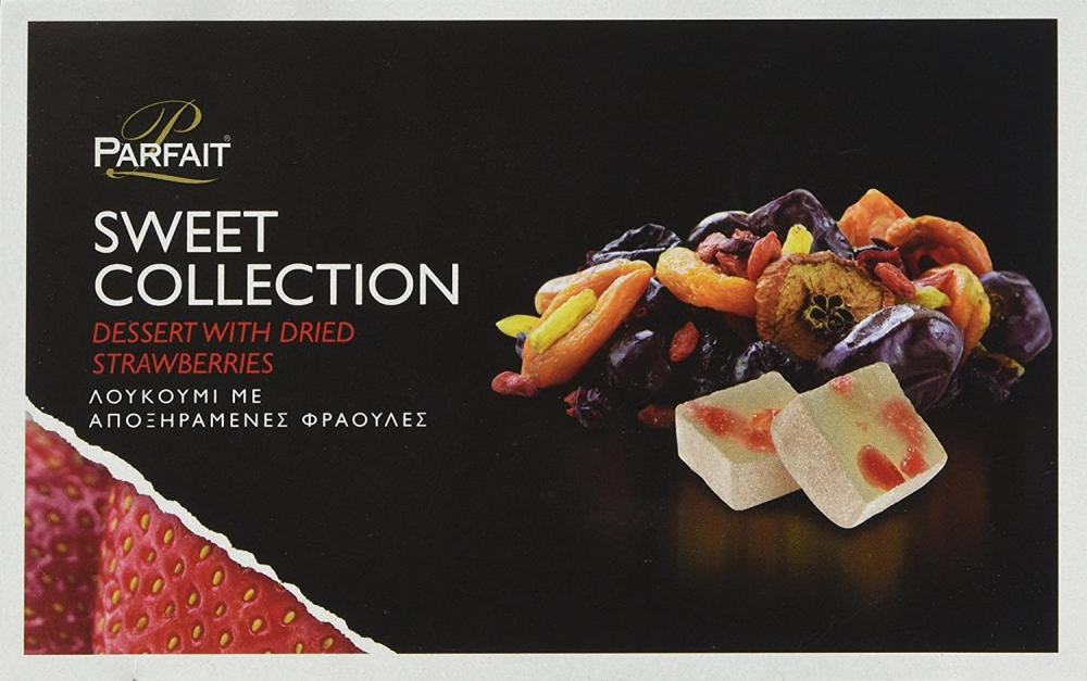 Parfait Sweet Collection Greek Delights with Dried Fruits Strawberry 200g