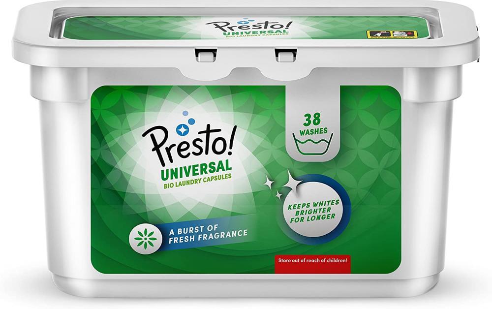 Presto Laundry Capsules Bio 38 Washes