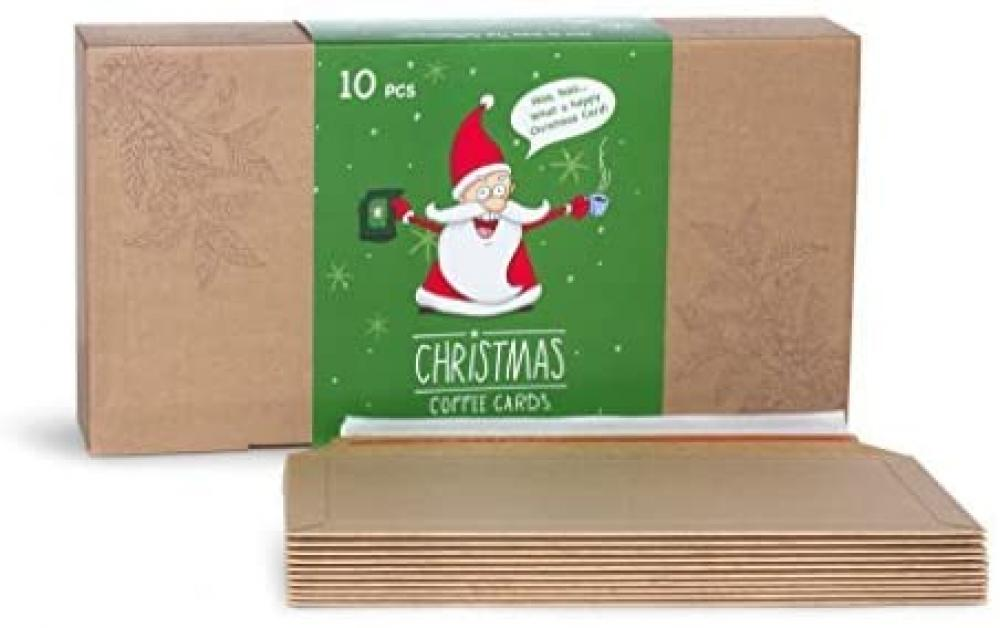 The Brew Company Merry Christmas and Happy New Year Coffee Lover Gift Box 10 pcs