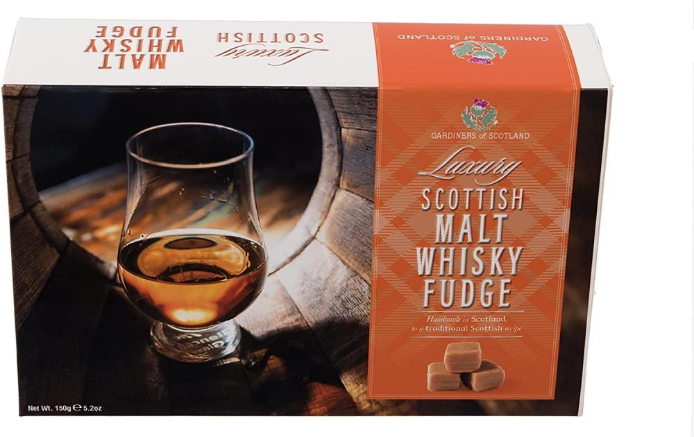 Gardiners of Scotland Whisky Fudge Carton 150 g