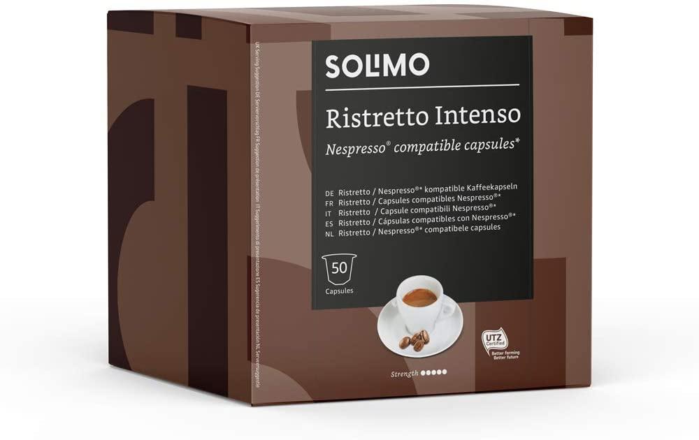 Solimo Nespresso Compatible Ristretto Intenso Coffee 250 g