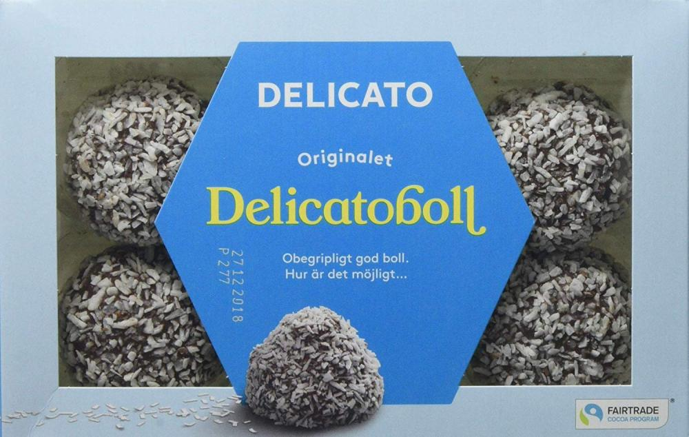 SALE  Delicato Chocolate Oat Pastries Delicatoboll 240g
