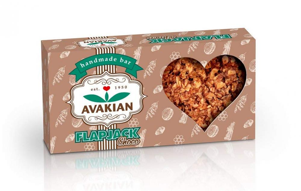 Avakian Handmade Chocolate Flapjack Bar 80g