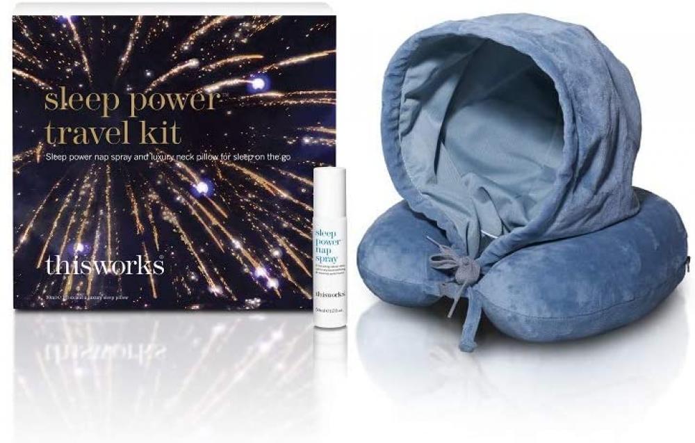 This Works Sleep Power Travel Kit Gift Set