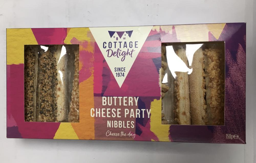 Cottage Delight Buttery Cheese Party Nibbles 150g