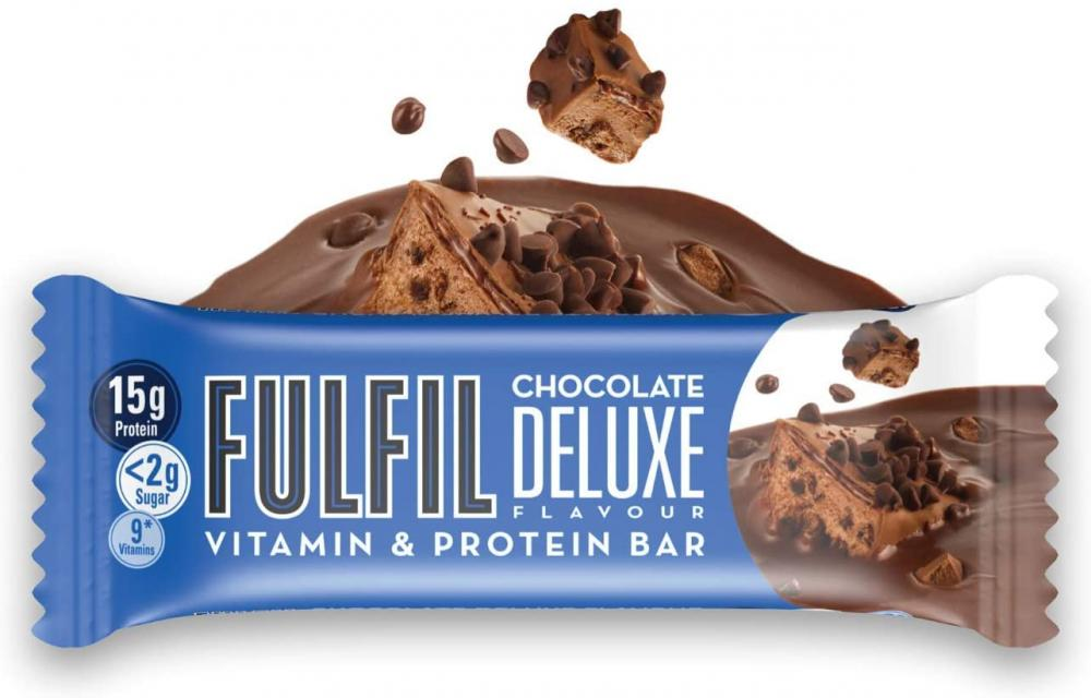 Fulfil Chocolate Deluxe Flavour Protein Bar 40g
