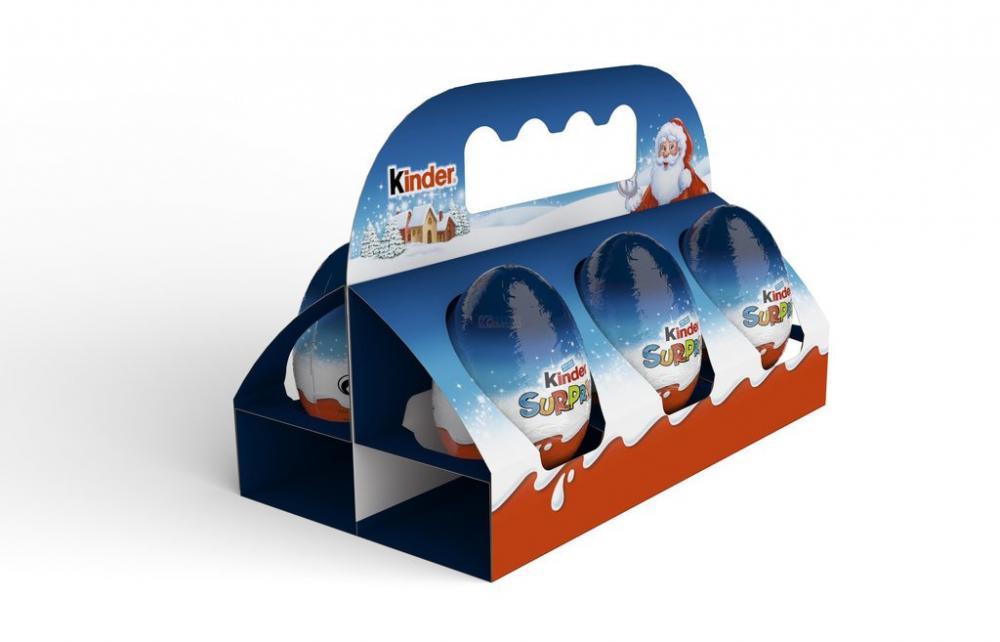 Kinder Surprise Egg 6 Pack 120g