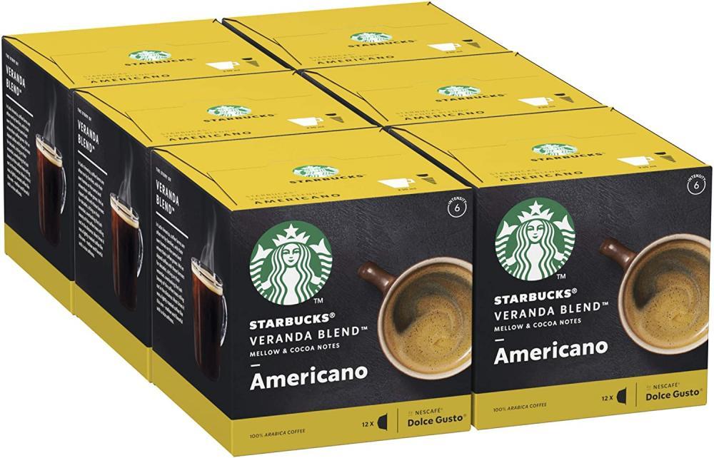 FLASH DEAL  Starbucks Veranda Blend By Nescafe Dolce Gusto Blonde Roast Coffee Pods 12 Capsules