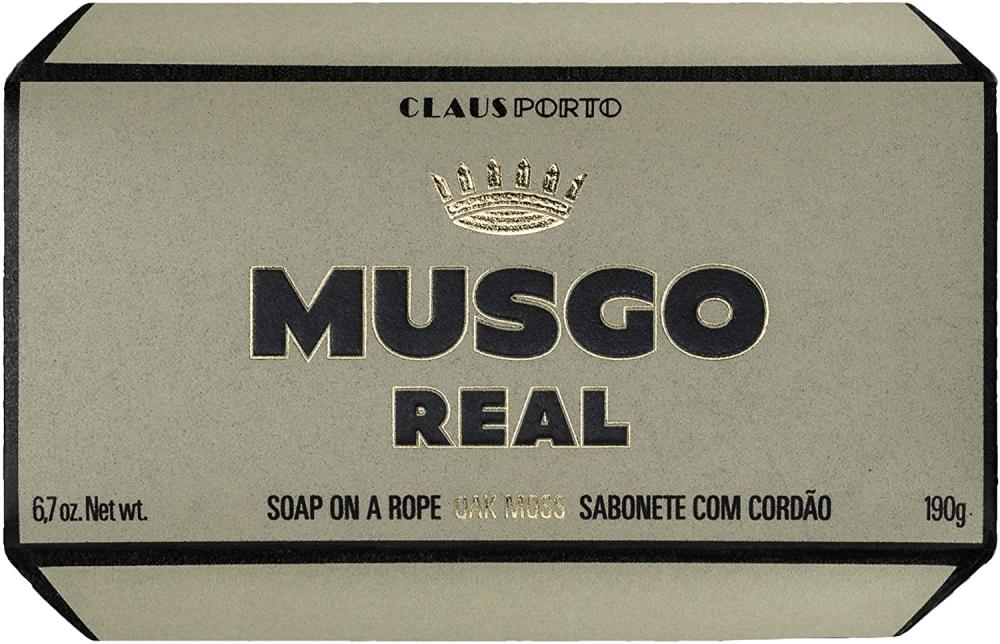 Claus Porto Musgo Real Mens Body Soap on a Rope - Oak Moss 190 g
