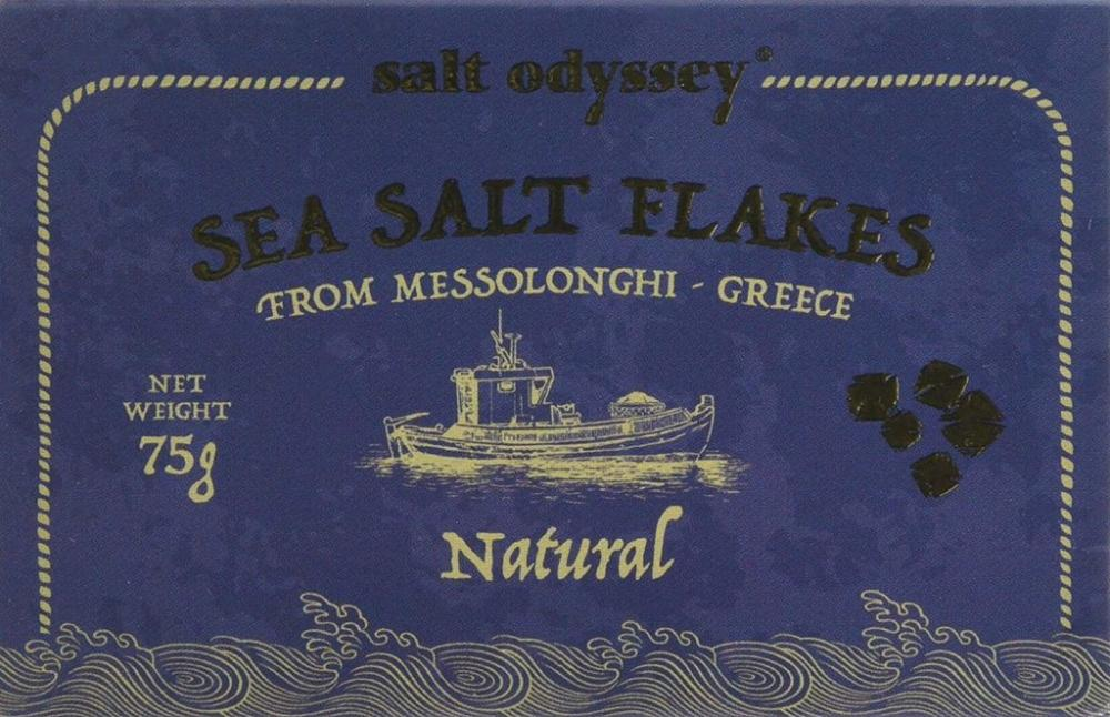 Salt Odyssey Sea Salt Flakes 75g