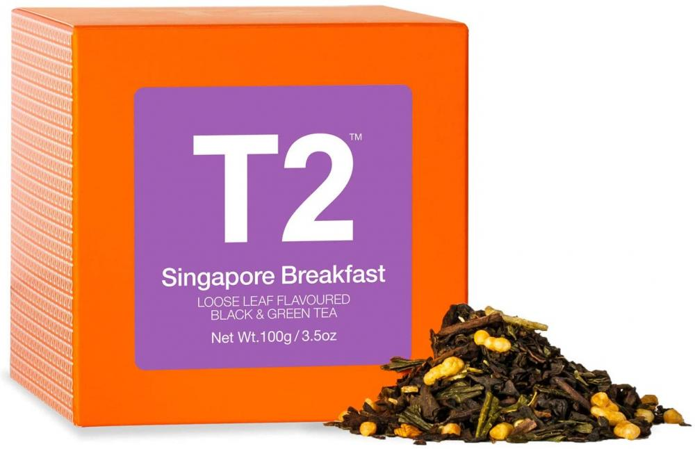 T2 Tea Singapore Breakfast Tea 100g