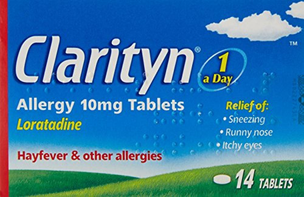 Clarityn One A Day Allergy Hayfever 14 Tablets