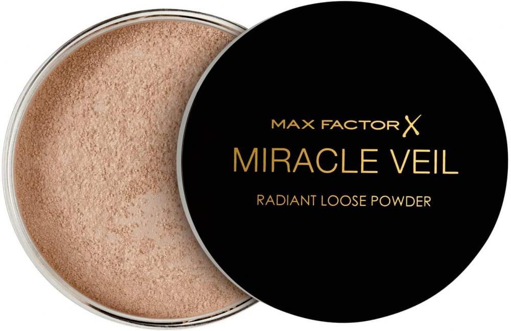 Max Factor Miracle Veil Radiant Loose Face Powder Transparent 4g