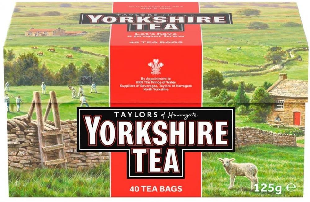Taylors Of Harrogate Yorkshire Tea 40 teabags