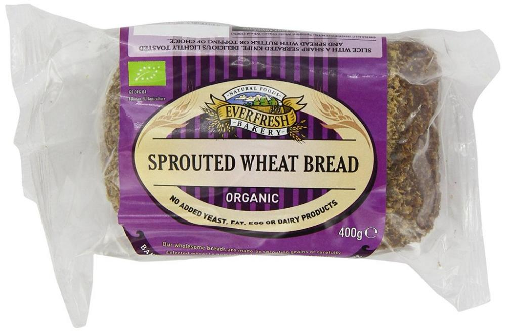 Everfresh Sprouted Wheat Organic Bread 400 g