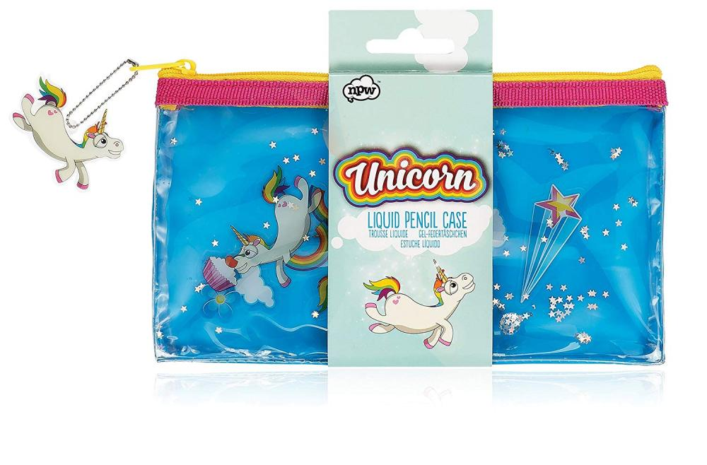 NPW Unicorn Liquid Pencil Case