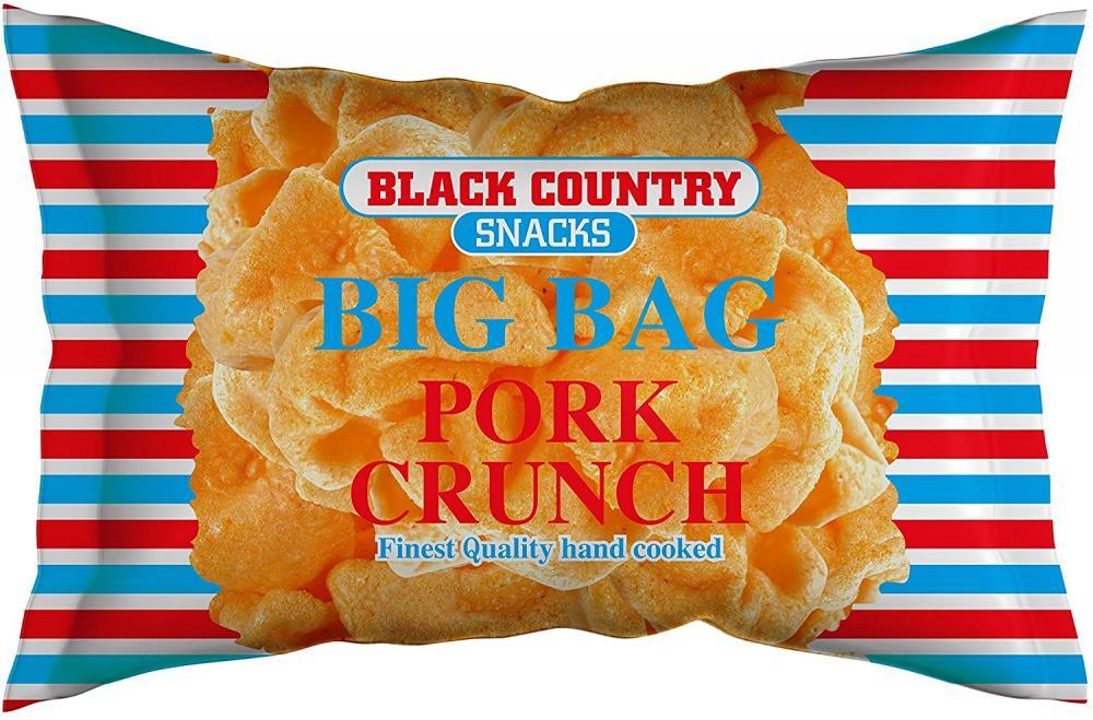 Black Country Pork Crunch Big Bag 80g