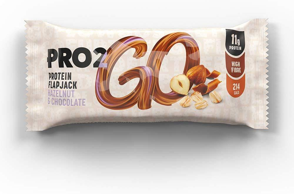 Pro 2Go Protein Flapjack Hazelnut And Chocolate 50g