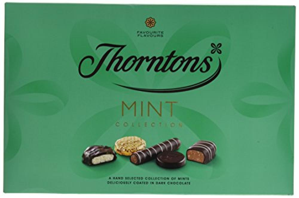 SUMMER SALE  Thorntons Classic Mint Collection Chocolate 282 g