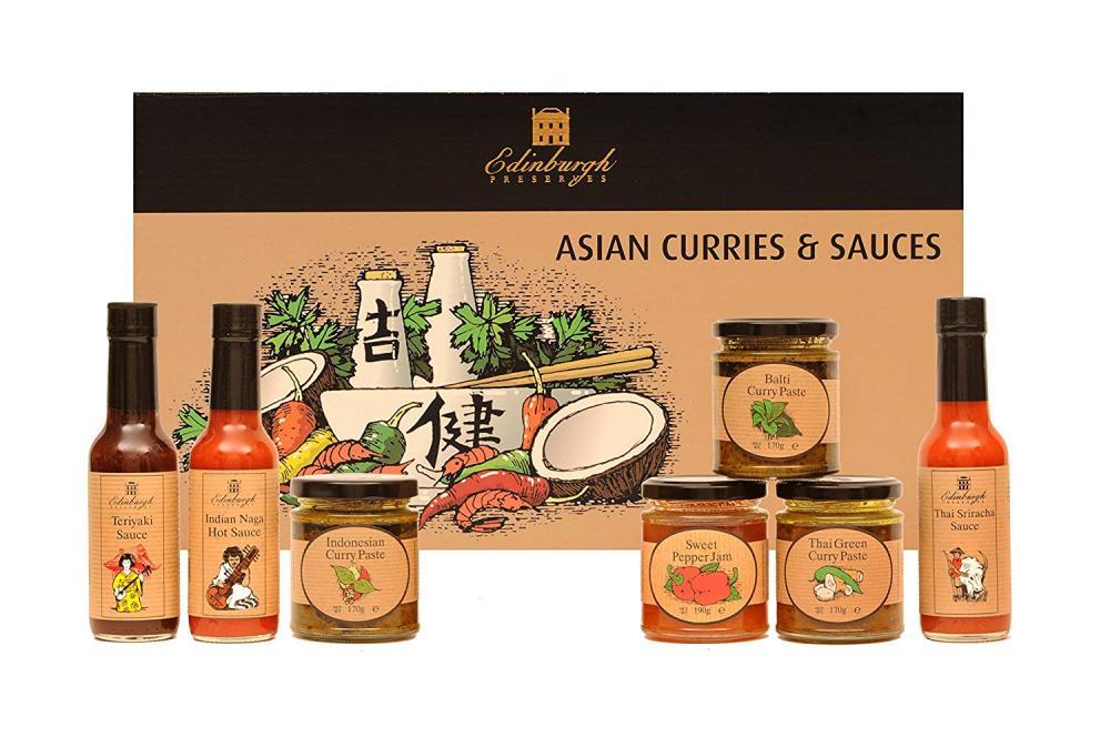 Edinburgh Preserves Asian Curries And Sauces Hamper
