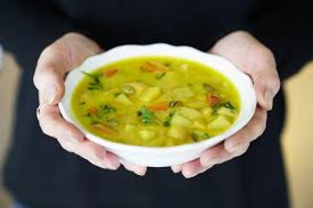 De Identified Root Vegetable Turmeric Soup 400g