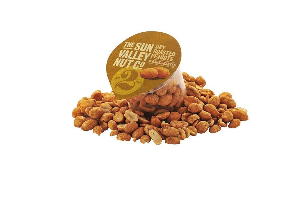 Sun Valley Dry Roasted Peanuts 55g