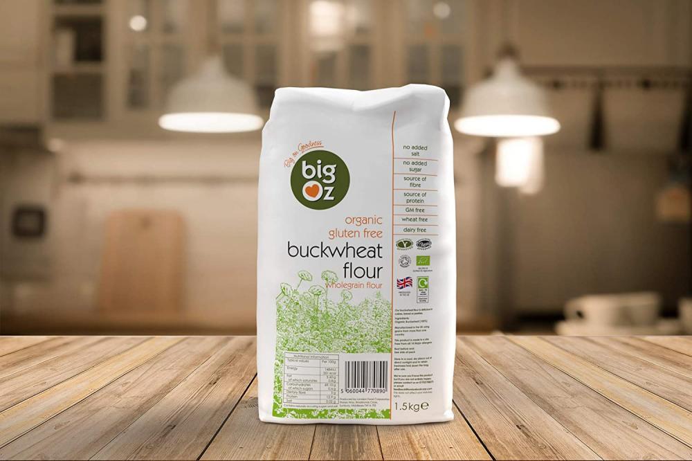 Big Oz Organic Gluten-Free Buckwheat Flour 1.5 kg