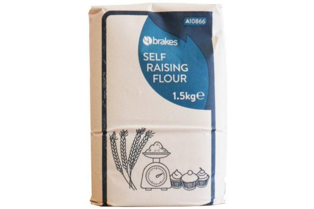 Brakes Self Raising Flour 1.5kg
